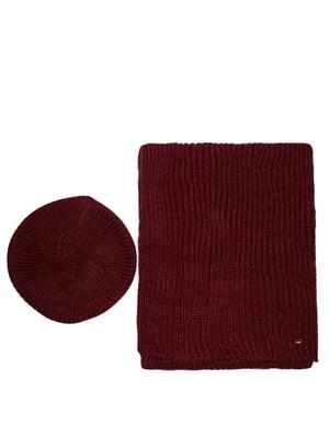 Комплект: берет и шарф | 5327686