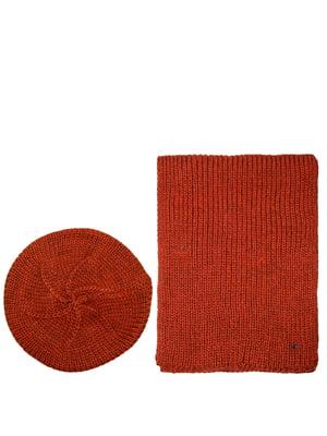 Комплект: берет и шарф | 5327688