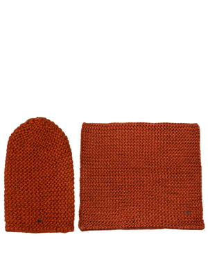 Комплект: шапка і шарф | 5327691