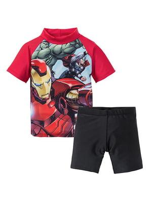 Пляжный костюм (футболка, шорты)   5332022