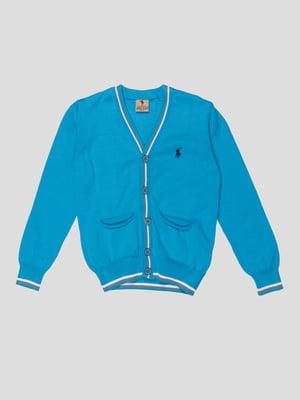 Кардиган голубой | 5317867
