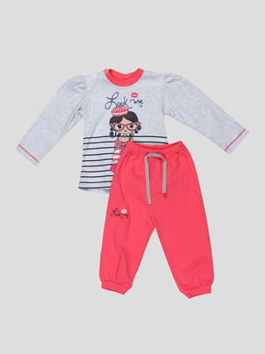 Комплект: джемпер і штани   5317873