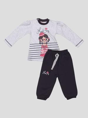 Комплект: джемпер і штани   5317874