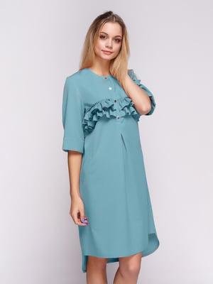 Платье голубое | 5332338