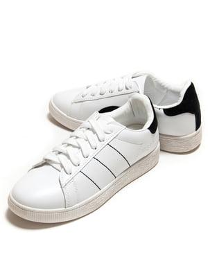 Кроссовки бело-черные   5332292