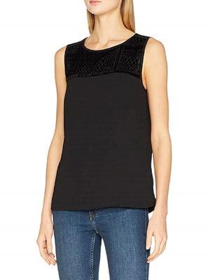 Блуза черная   5336573