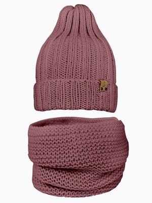 Комплект: шапка и шарф-снуд | 5336689