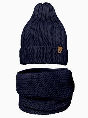 Комплект: шапка і шарф-снуд | 5336691