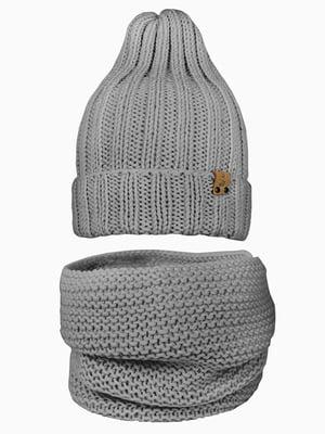 Комплект: шапка і шарф-снуд | 5336692