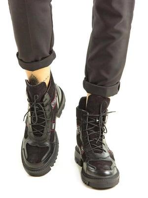 Ботинки черные | 5336832