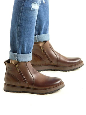 Ботинки коричневые | 5336840