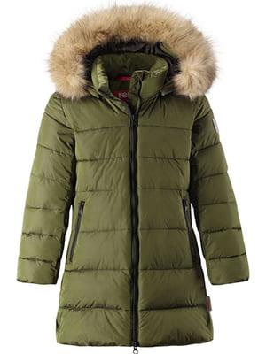 Куртка цвета хаки | 5328804