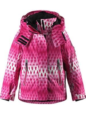 Куртка малиновая с орнаментом   5328986