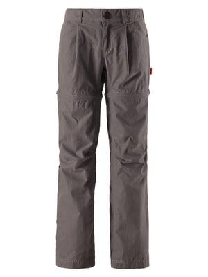 Брюки-шорты серые | 5329058