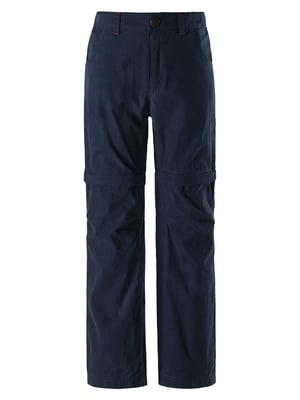Брюки-шорты синие | 5329059