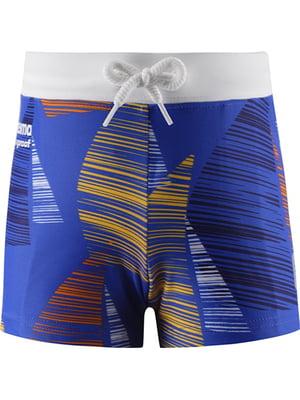 Плавки синьо-помаранчеві | 5329088