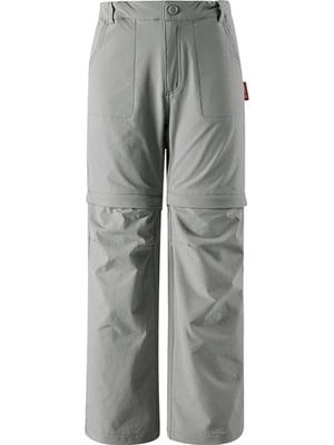 Брюки-шорты цвета хаки | 5329101