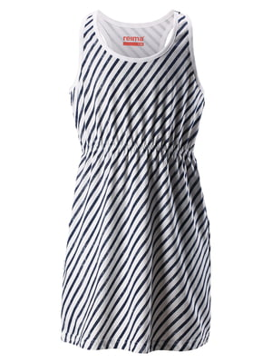 Платье белое в полоску | 5329104
