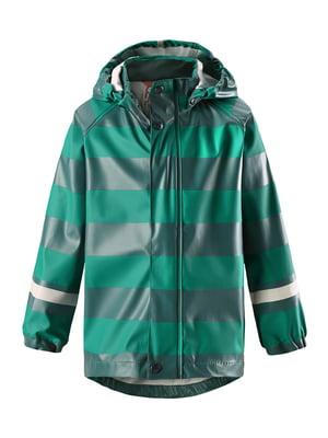 Плащ-дождевик зеленый | 5329387