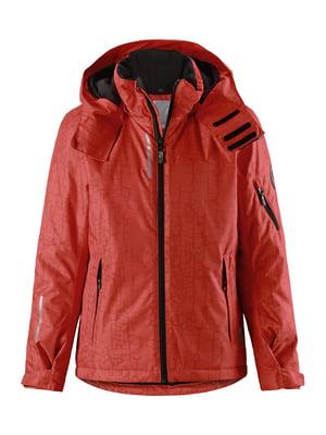 Куртка теракотового кольору | 5329608
