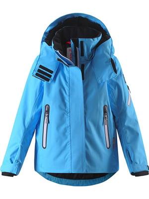 Куртка голубая   5329685