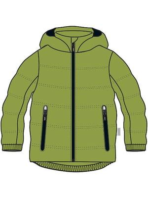 Куртка зелена | 5329698