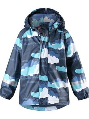 Плащ-дощовик синій | 5329761