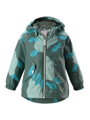 Куртка сіро-зелена | 5329890