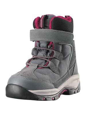 Ботинки серые | 5330102