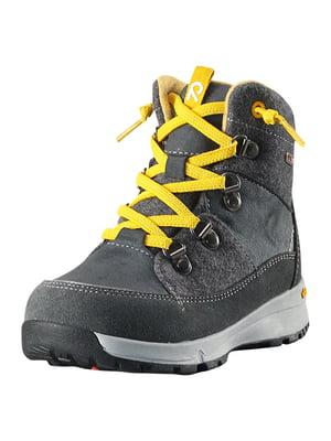 Ботинки черные | 5330105