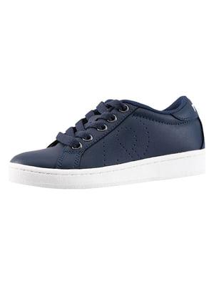 Кроссовки синие   5330107