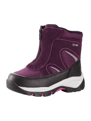 Ботинки бордовые | 5330129
