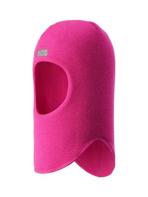 Шапка-шлем цвета фуксии | 5330433