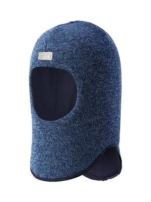 Шапка-шлем синяя | 5330436