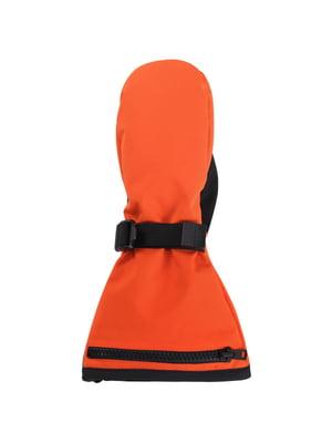 Варежки оранжевые | 5330568