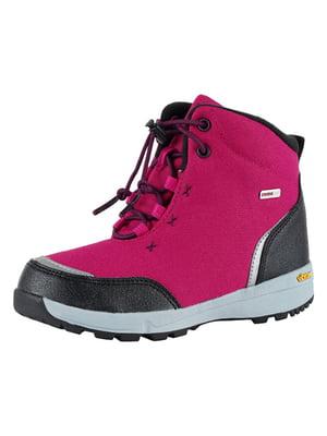 Ботинки вишневого цвета | 5331141