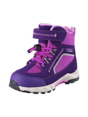 Ботинки фиолетовые | 5331222