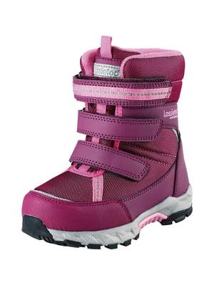 Ботинки цвета фуксии | 5331226