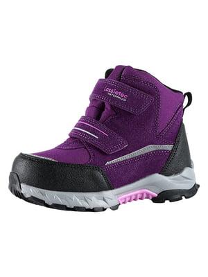 Ботинки бордовые | 5331241
