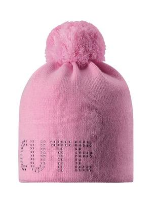 Шапка рожева з малюнком   5331269