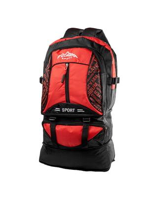 Рюкзак чорно-червоний | 5337334