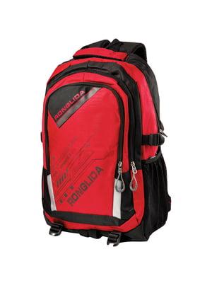Рюкзак черно-красный | 5337337