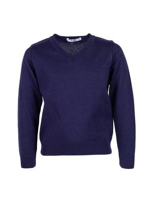 Пуловер синий | 5327903