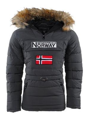 Куртка темно-серая | 5337586