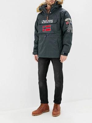 Куртка темно-сіра | 5337605