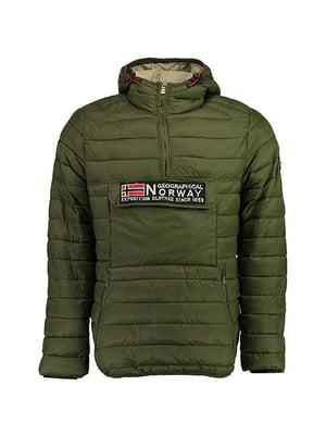 Куртка цвета хаки | 5337612