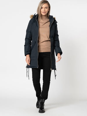 Пальто темно-синее | 5337639