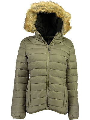Куртка оливкового кольору | 5337685