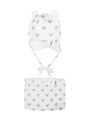 Комплект: шапка і шарф-снуд | 5336707