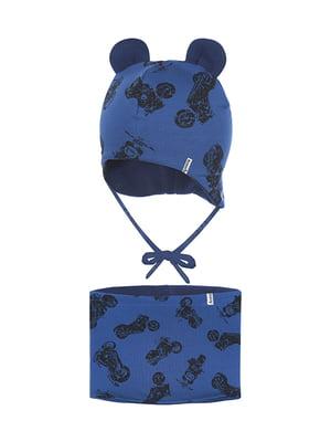 Комплект: шапка і шарф-снуд | 5336708